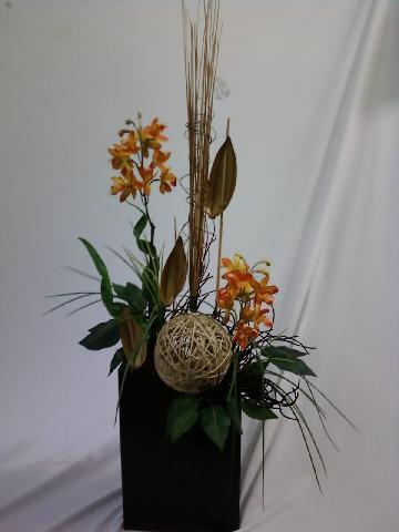 Im genes de arreglos de naturaleza muerta y flor for Como hacer adornos con plantas artificiales