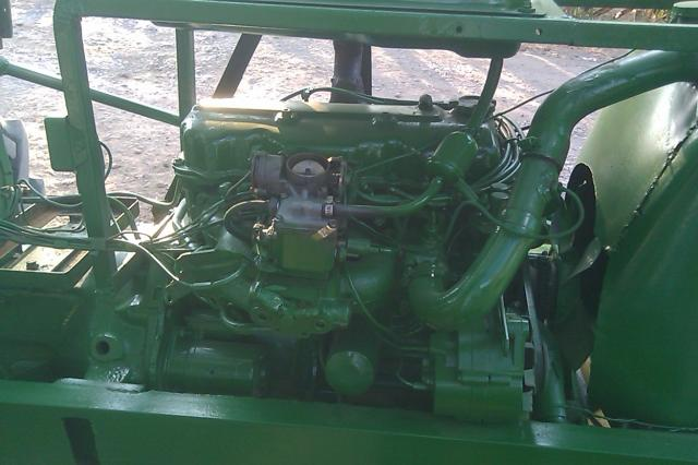 1962 John Deere 1010 : Tractor john deere  en ameca
