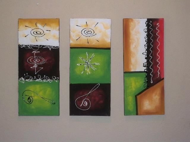 Cuadros al oleo abstractos modernos y elegantes en tijuana for Imagenes de cuadros abstractos texturados