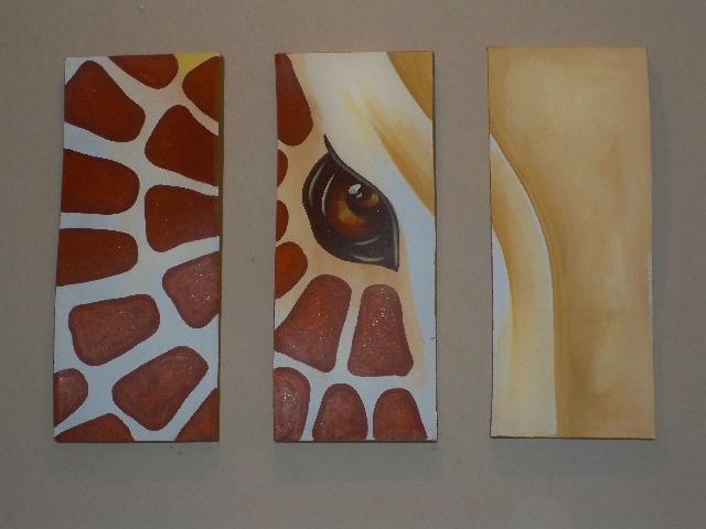 Cuadros al oleo abstractos modernos y elegantes en tijuana Cuadros tripticos modernos para comedor