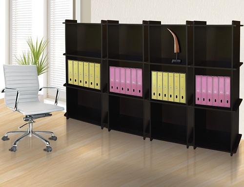 Archivero librero berlin mueble para oficina for Libreros para oficina