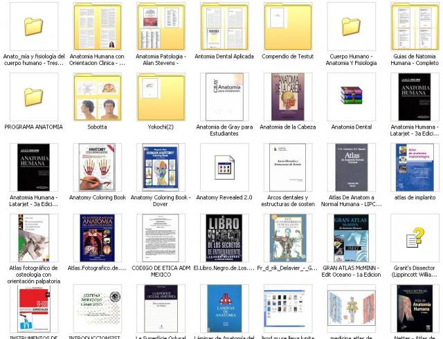 Libros ANATOMIA, VIDEOS, PROGRAMAS, MAS DE 23GB DE INFORMACION!!! en ...