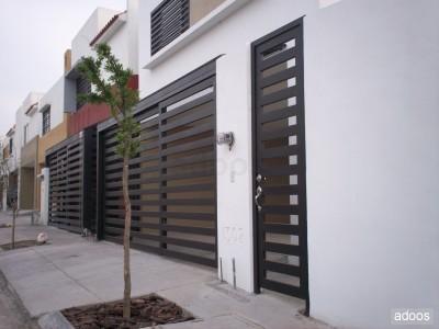 Portones automatizados para cochera al mejor precio for Puertas para casas minimalistas
