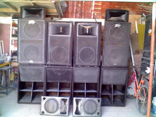 venta de equipo de audio profesional: