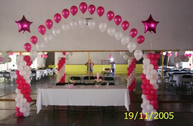 Pin decoracion con globos cuernavaca decoraciones para - Decoracion de globos ...