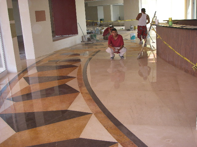 Desbastado pulido y abrillantado de pisos en monterrey for Como limpiar pisos de marmol