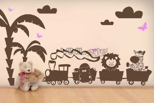 Dibujos en paredes decoracion artistica n muros en morelia - Decoracion en paredes para ninos ...