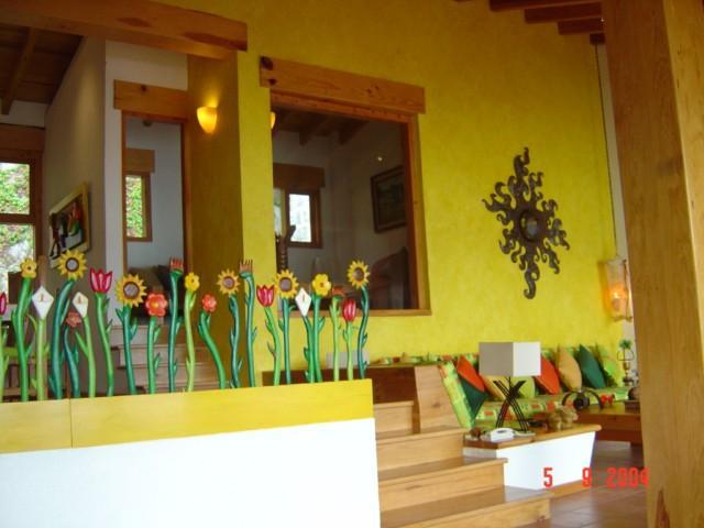 Baños Decorados Estilo Mexicano:Casa Estilo Colonial Mexicano
