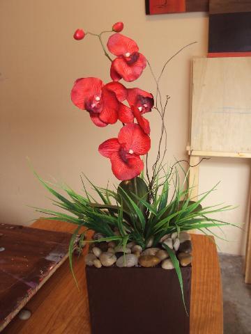 Bellisimo Arreglo Floral De Orquídeas En San Nicolas De Los