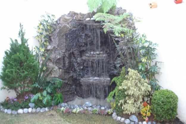 Im genes de jardineria en xochimilco en xochimilco for Cascadas en piedra para jardines