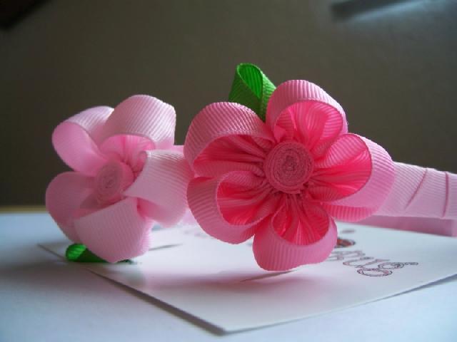 Diseño de moños para niña - Imagui