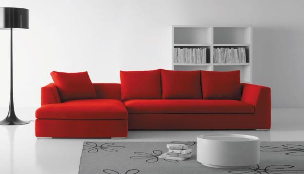 La moda en muebles asta la puerta de tu casa tenemos de for Casa minimalista roja