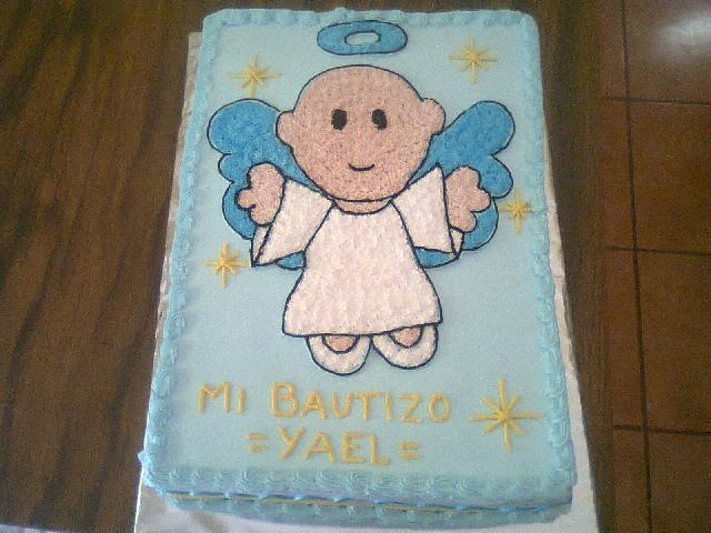 Diseños de bautizo en pasteles - Imagui