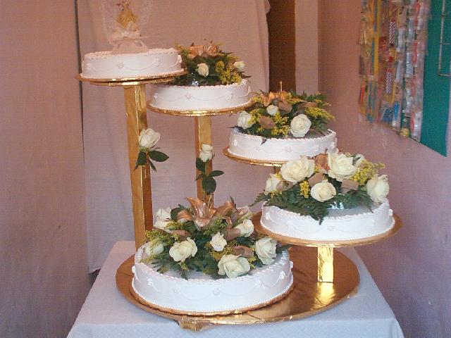 bases para pasteles en forma de arbol