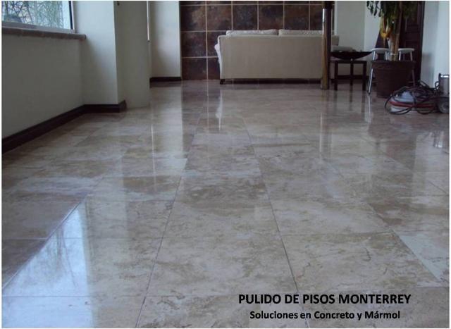 Im genes de pulido y abrillantado de pisos de marmol for Fotos de pisos de marmol travertino