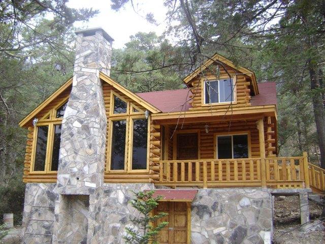 Madereria las caba as en monterrey - Casa de madera rustica ...