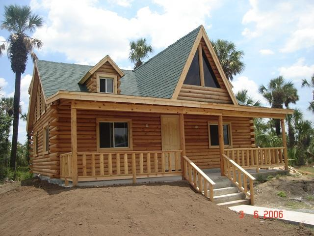 Fabricacion de cabanas rusticas casas madera pictures - Casa de madera rustica ...