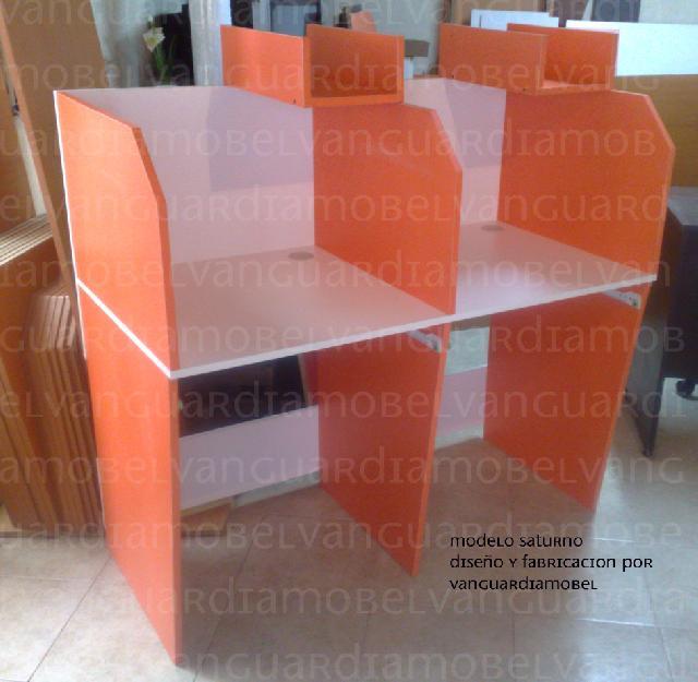 Muebles para cybercafe, descargar o ver fotos
