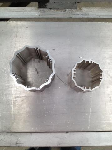 Im genes de fabricante de perfiles especiales de aluminio - Barras de aluminio huecas ...