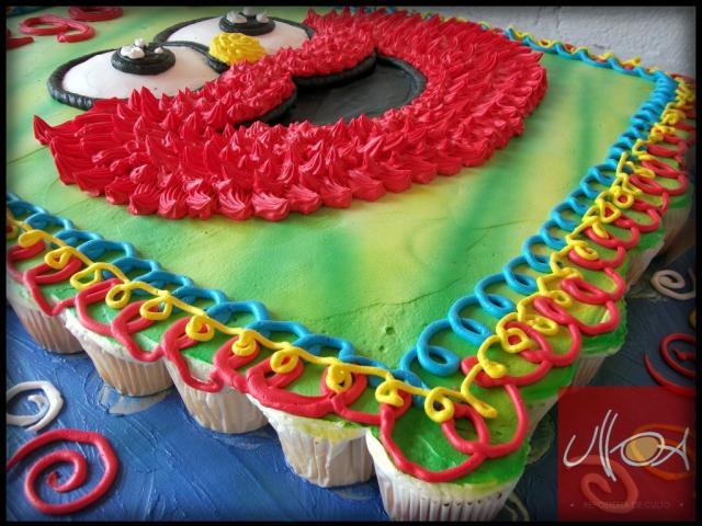 Pasteles Para Todos Los Eventos: Imágenes De Pasteles De Muffin En Toluca Cel. 722 360 07