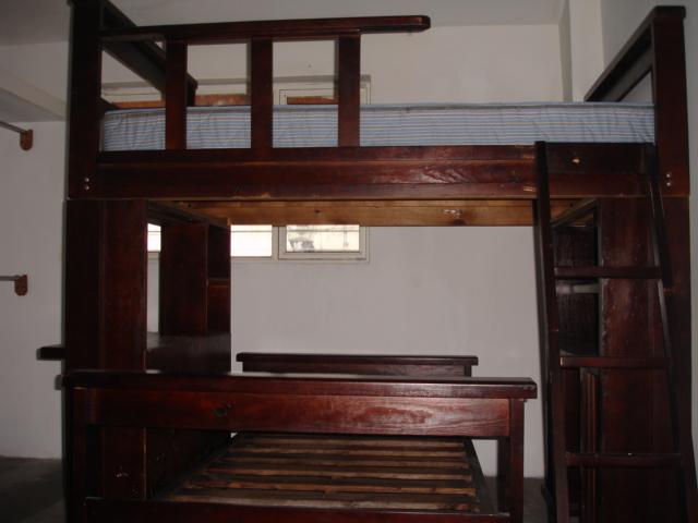 Literas de madera con escritorio imagui - Literas con escritorio abajo ...