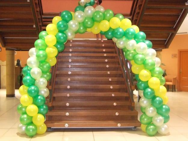 Decoracion con globos para fiestas infantiles en cuajimalpa for Globos decoracion fiestas