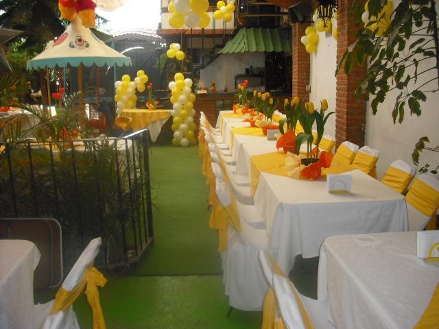 Jardin de fiestas infantiles azul en ecatepec de morelos for Jardines pequenos para eventos df
