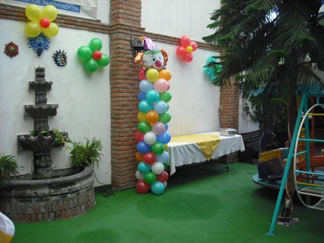 Jardin de fiestas infantiles azul en ecatepec de morelos for Imagenes de jardines para fiestas