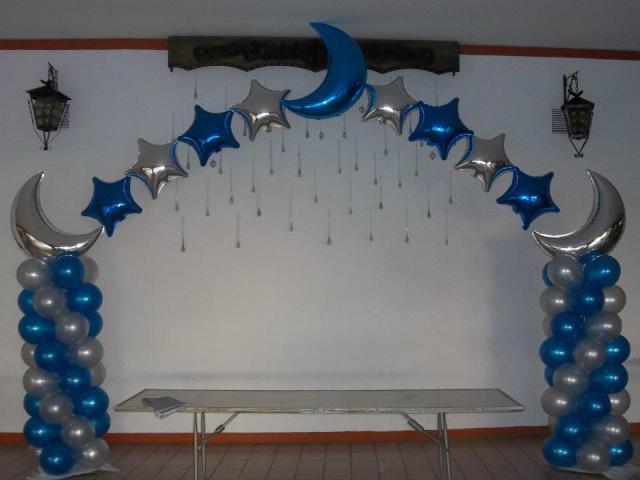 Decoraci n el globo para xv a os imagui for Decoracion con globos para xv anos