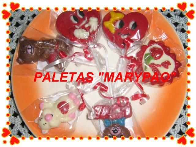 Fotos de paletas de bombon chocolate galletas decoradas for Paletas de cocina decoradas