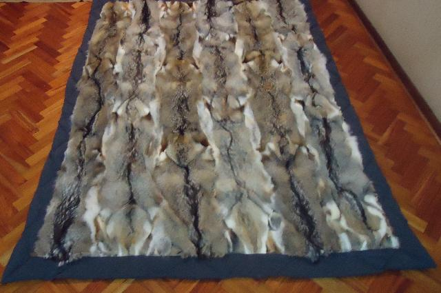 Alfombra de piel de zorro en atolinga - Mantas de piel ...