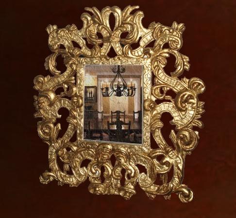 Im genes de espejos y articulos en madera tallada en campeche for Disenos de espejos tallados en madera