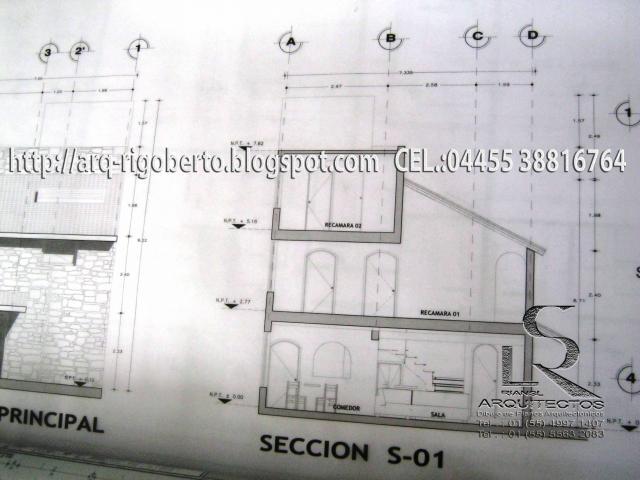 Im genes de planos arquitect nicos para regularizaciones for Simbologia de niveles en planos arquitectonicos