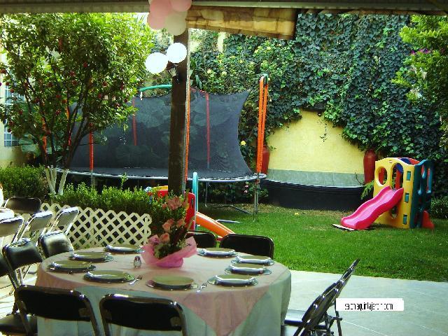 Im genes de salon de fiestas con jardin infantiles xv a os for Jardin eventos df