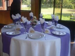 Im genes de manteles para eventos banquetes hoteles y for Caminos para mesas redondas