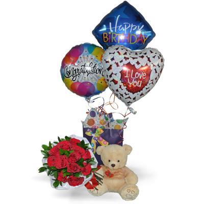 Im genes de floreria y pelucheria teddy regalos globos - Como conseguir globos de helio ...