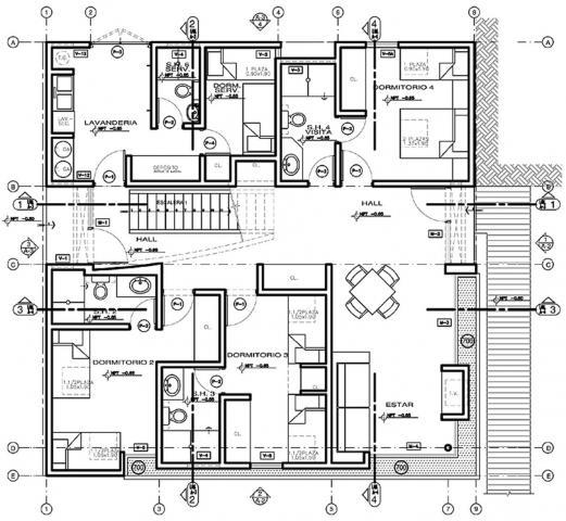 Elaboraci n y dise o de planos en autocad en guadalajara for Planos de cocinas autocad