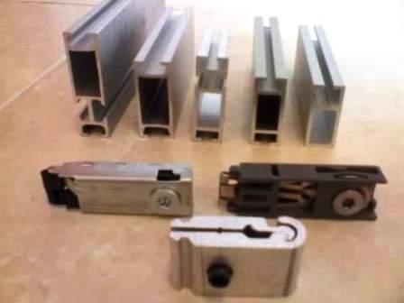 Im genes de soleras y tees de aluminio para plafones tela for Uniones para perfiles cuadrados de aluminio