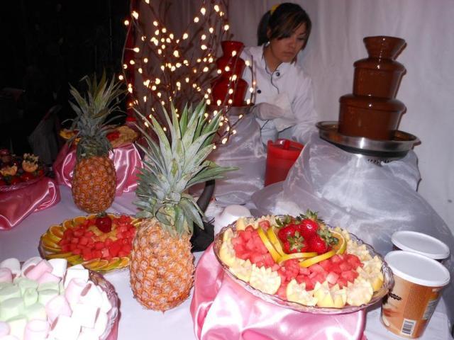 Telas Decoracion Mexico ~ decoracion con telas, barra de bebidas, fuentes de chocolate en