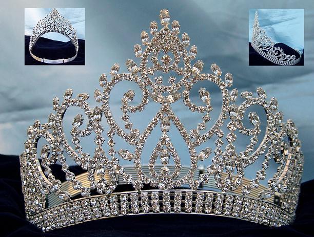 Coronas Tiaras Y Cetros Para Reina Novia Princesa Y Quinceañera En
